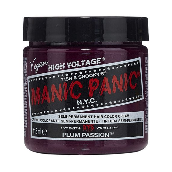 toner do włosów MANIC PANIC - PLUM PASSION