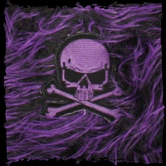 torba QUEEN OF DARKNESS purple/black