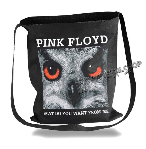 torba bawełniana PINK FLOYD - WHAT DO YOU WANT FROM ME