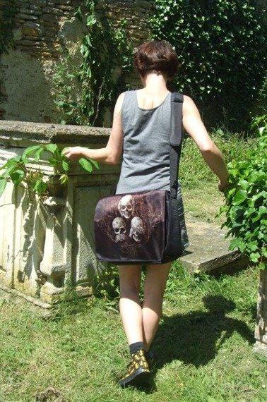 torba na ramię  ALCHEMY GOTHIC NO EVIL