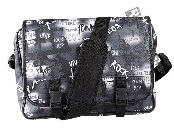 torba na ramię PATCHWORDS, z klapką