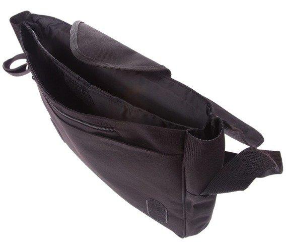 torba na ramię duża CZARNA