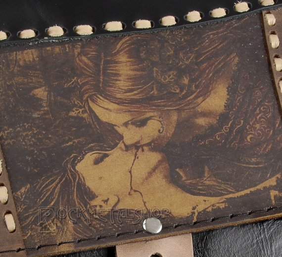 torba skórzana VICTORIA FRANCES - KISS