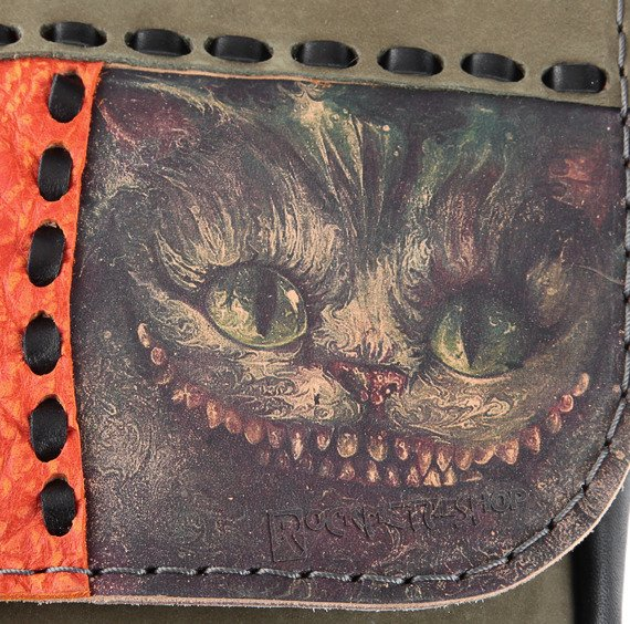 torebka skórzana mała CHESHIRE CAT