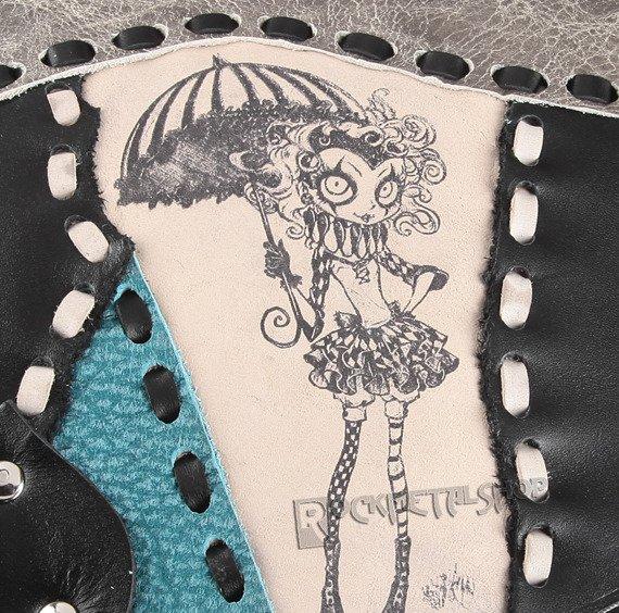 torebka skórzana mała LADY