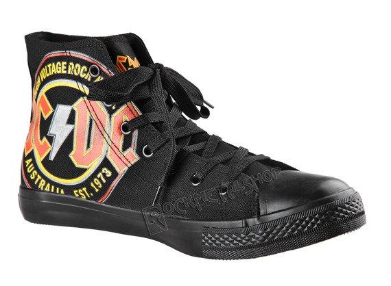 trampki AC/DC- HIGH VOLTAGE