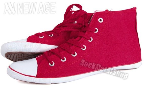 trampki NEW AGE - RED (BH-425)