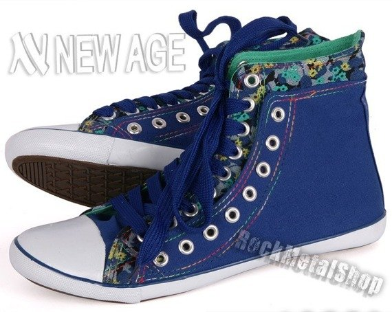 trampki NEW AGE - ROYAL BLUE