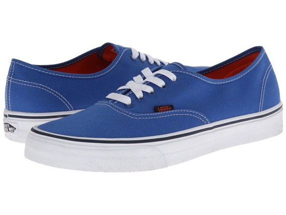 trampki VANS - AUTHENTIC POP STRONG BLUE NASTURTIUM