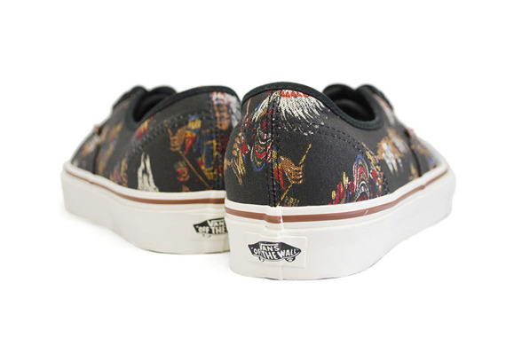 trampki VANS  - AUTHENTIC TRIBAL LEADERS BLACK