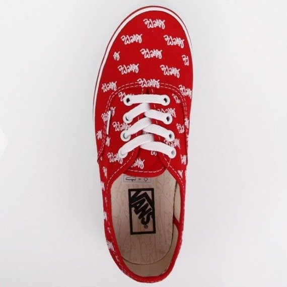 trampki damskie VANS  - AUTHENTIC LOVE ME RED