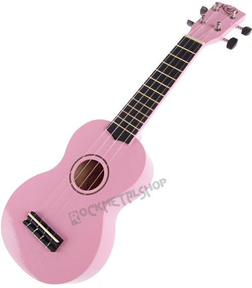 ukulele sopranowe KORALA różowe + pokrowiec