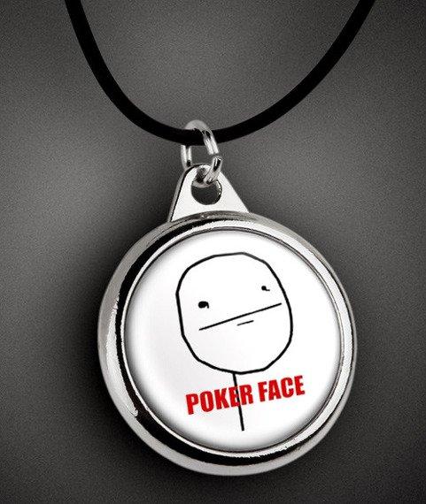 wisior POKER FACE