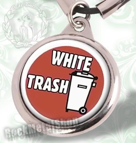 wisior WHITE TRASH