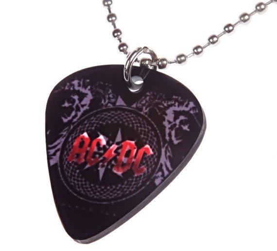 wisior kostka gitarowa AC/DC - BLACK ICE