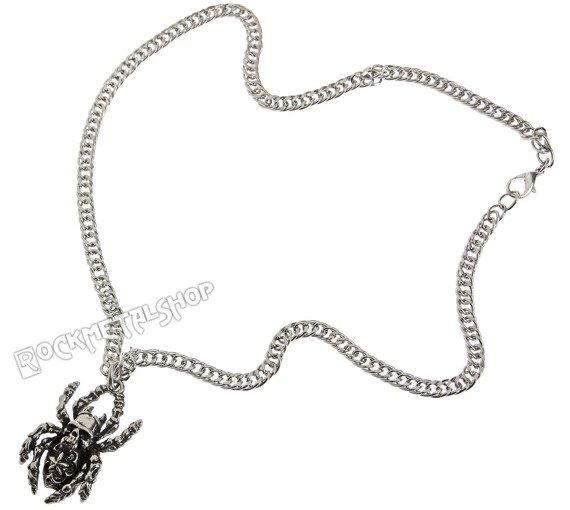 wisior + łańcuszek SKULL - SPIDER