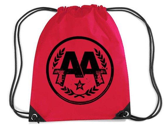 worek / plecak ASKING ALEXANDRIA - CIRCLE LOGO (RED)