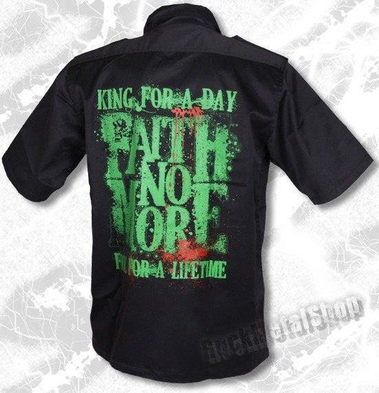 workshirt FAITH NO MORE - KING FOR A DAY, FOOL FOR A LIFETIME  (sz)