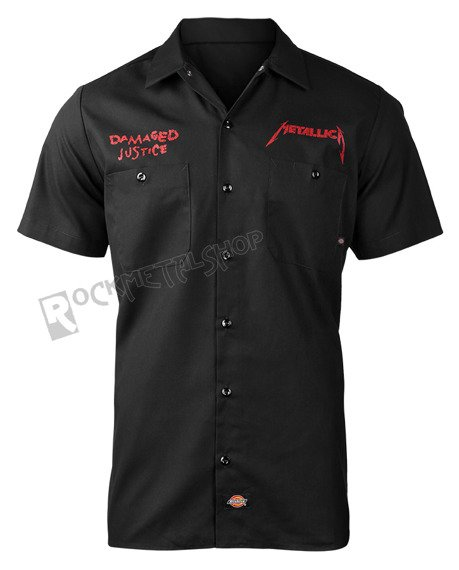 workshirt METALLICA - PUSHEAD DAMAGED