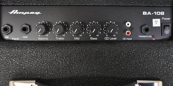 wzmacniacz basowy combo AMPEG 25W BA-108