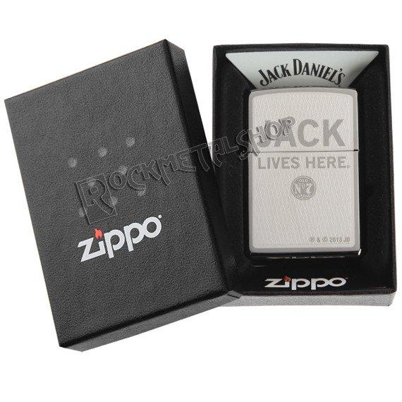 zapalniczka ZIPPO - JACK DANIEL'S LIVES HERE