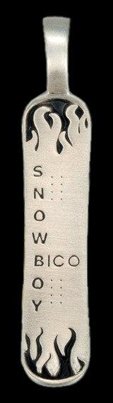 zawieszka BICO AUSTRALIA - SNOWBOARD (E71)