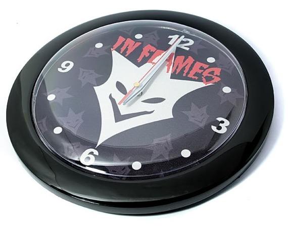 zegar IN FLAMES ścienny