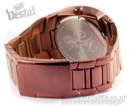 zegarek MOTORHEAD - Polished Bronze / Brown/Bronze, firma VESTAL (MTR008)