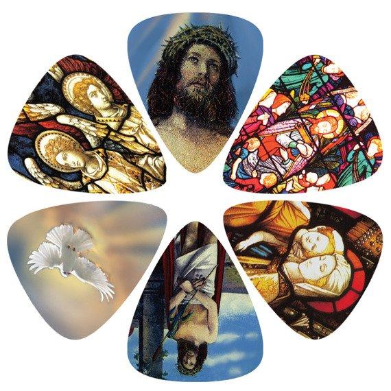 zestaw kostek PERRI'S CHRISTIANITY LP-PL16 (6 szt)