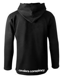 bluza CAVALERA CONSPIRACY czarna, z kapturem