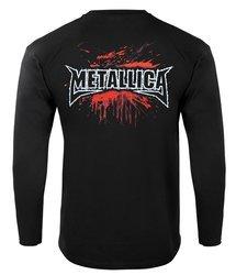 bluza METALLICA - CIRCULAR SAW czarna, z kapturem