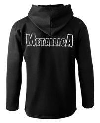 bluza METALLICA - DEATH MAGNETIC czarna, z kapturem