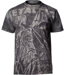 koszulka METALLICA - PUSHEAD SPLATTER