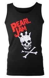 koszulka na ramiączkach PEARL JAM - SKULL