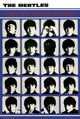 plakat THE BEATLES - A HARD DAY'S NIGHT