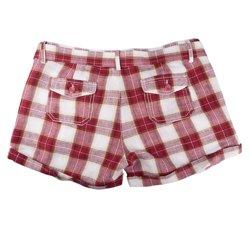 spodenki krótkie damskie LADIES HOT PANTS RED