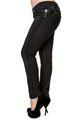 spodnie damskie BANNED - BLACK/GREEN TARTAN